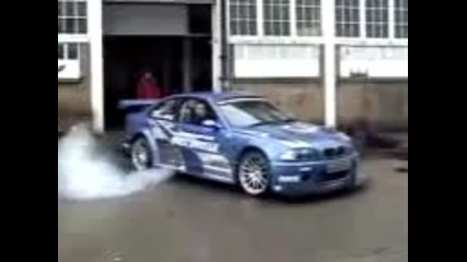 Bmw M3 Gtr от играта Need For Speed Most Wanted