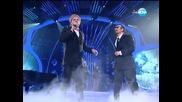Павел Владимиров и Иво Танев като Джордж Майкъл и Елтън Джон - Като две капки вода - 09.06.2014 г.