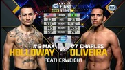 Charles Oliveira vs Max Holloway (ufc Fight Night 74, 23.08.2015)