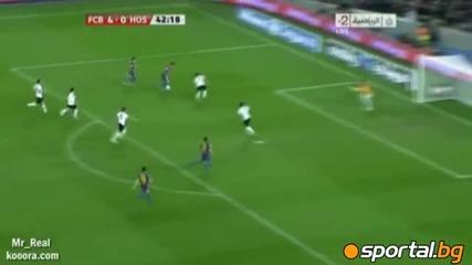 Барселона - Хоспиталет 9 - 0 22.12.2011