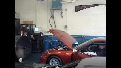 Toyota Supra Turbo dyno