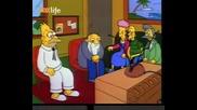 The Simpsons - Бърнс става губернатор