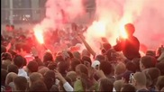 Амстердам празнува 33-а титла на Аякс