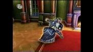 Барби в 12 танцуващи принцеси (част 8)