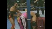 Bret Hart vs. Razor Ramon - Royal Rumble 1993 [ High Quality ]