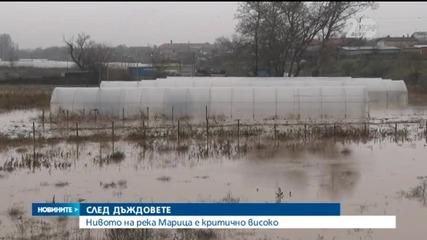 Нова заплаха след вчерашните наводнения в Хасковско