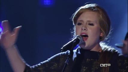 Живо Изпълнение! Adele and Darius Rucker - Need You Now