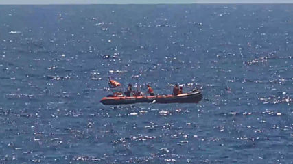Italy: Migrants rescued after jumping off NGO boat