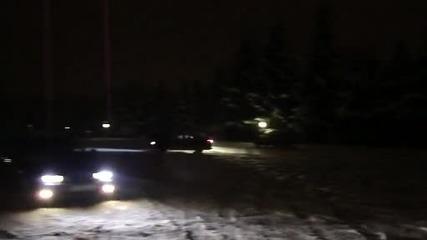 Mitsubishi Eclipse snow doughnut 2