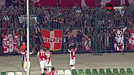 Звездашите с поздрав към феновете в Разград