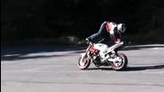 Екстремни трикове с мотор ...