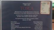 Култовата опера Тоска с Лучано Павароти на V H S (1993) от Bmg Video ( Германия)