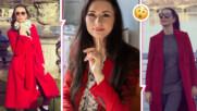 Наталия Кобилкина се разходи в гробище, обсъждала странна тема с мъжа си