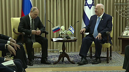 Israel: 'Antisemitism ends with Auschwitz' - Putin meets President Rivlin ahead of Holocaust commemoration