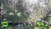 Япония: Снимки от дрон показват планина Хаконе пред изригване
