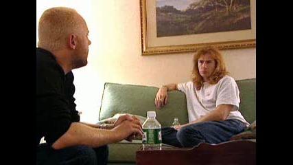 Interviu S Lars - Metallica Dave - Megadeth 1