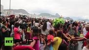 Флашмоб в Бразилия отбелязва 500 дни до началото на параолимпийските игри