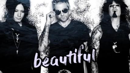Sixx: A. M. - Life is Beautiful ( Lyric Video)