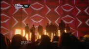 (hd) Speed ft. Minkyung ( Davichi) - That's My Fault + It's Over ~ M Countdown (17.01.2013)