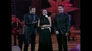 Ceca, Bane i Nikola - Aj ruse kose curo imas - Novogodisnji show - (TV Pink 2007)