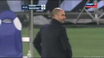 Сантос 0:4 Барселона (всички Голове) Hd