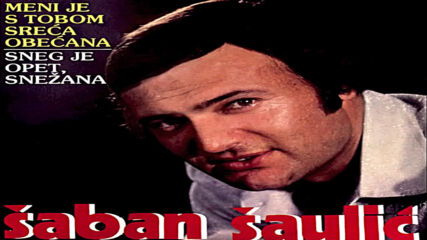 Saban Saulic - Meni je s tobom sreca obecana (hq) (bg sub)