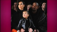 North West Can't Get Diaper Changed Without Designer Shoes