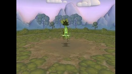 My Spore Creations - Leafeon