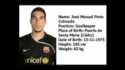 F.C.Barcelona Players Season 08/09