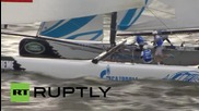 Germany: Russia's extreme sailing team aim for victory in Hamburg