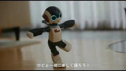Много сладко говорещо роботче