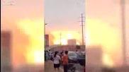 Взрив в химически завод в Южна Корея