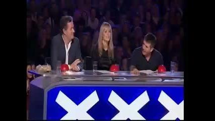 Готино изпълнение на баща и син от Britains Got Talent 2009