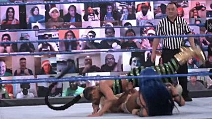 Bianca Belair's first week as SmackDown Women's Champion