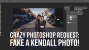 """Crazy Photoshop Requests: Fake a """"meeting a celeb"""" photo"""