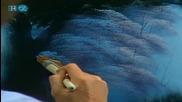 S20 Радостта на живописта с Bob Ross E08 The Old Oak Tree ღобучение в рисуване, живописღ