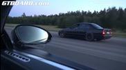 Старо Bmw M5 (e34) vs. Bugatti Veyron