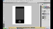 Да на правим iphone 3g само с фотошоп ( Фотошоп Урок )