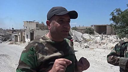 Syria: Town of Khan Sheikhoun recaptured by SAA