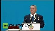 Назарбаев е президент на Казахстан за пети път