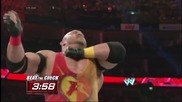 Big E vs. Ryback - Beat the Clock Challenge Raw, May 19, 2014