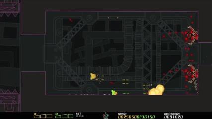 E3 2011: Pixeljunk Sidescroller - Debut Gameplay