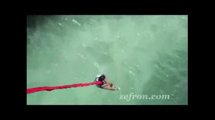 Zac Efron Bungee Jumping