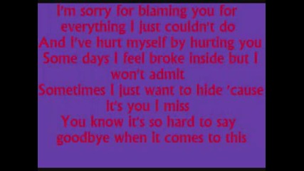 Hurt by Christina Aguilera with lyrics