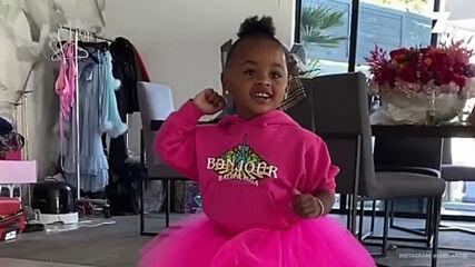 Ще повярвате ли, че детето на рапърката Карди Би стана на две години?