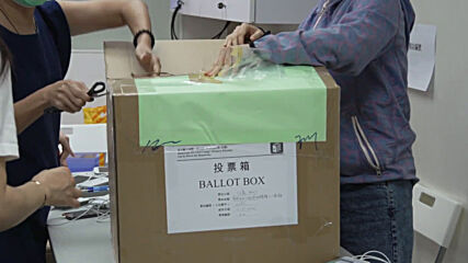 Hong Kong: Vote sorting underway following unofficial opposition primary