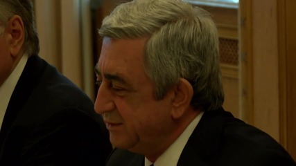 Germany: Steinmeier meets with Armenian pres and FM to discuss Karabakh