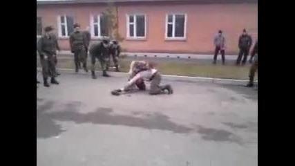 Руски бой в армията.