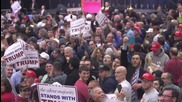 USA: Two arrested as Trump rallies home state of New York