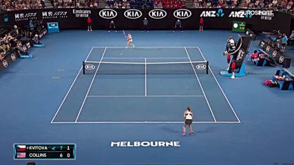 Petra Kvitov vs Danielle Collins Extended Highlights Australian Open 2019 Semi-finals 720p